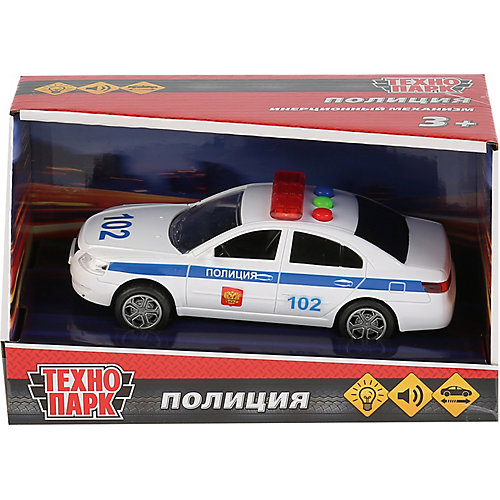 Машина Технопарк «Седан полиция» от ТЕХНОПАРК