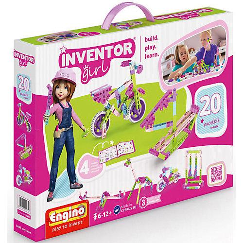 Конструктор Engino Inventor Girls, 20 моделей от ENGINO