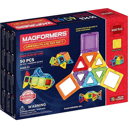 Магнитный конструктор Magformers Window Plus 50 Set от MAGFORMERS