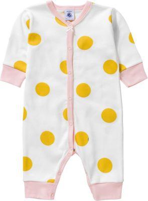 2er Pack Petit Bateau Baby-M/ädchen Schlafstrampler