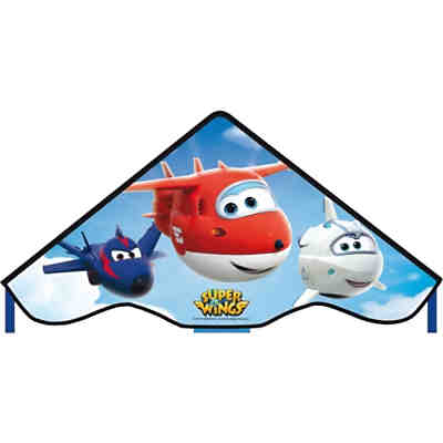 Super Wings Drachen Simple Flyer, 85 cm