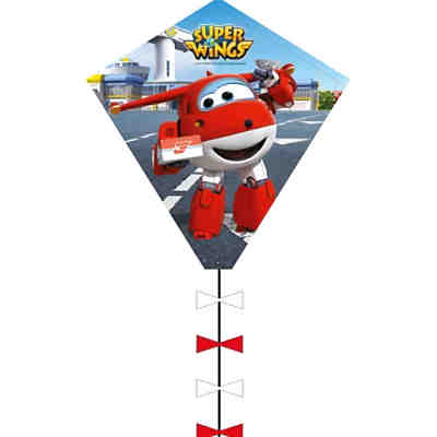 Super Wings Drachen Eddy, 50 cm