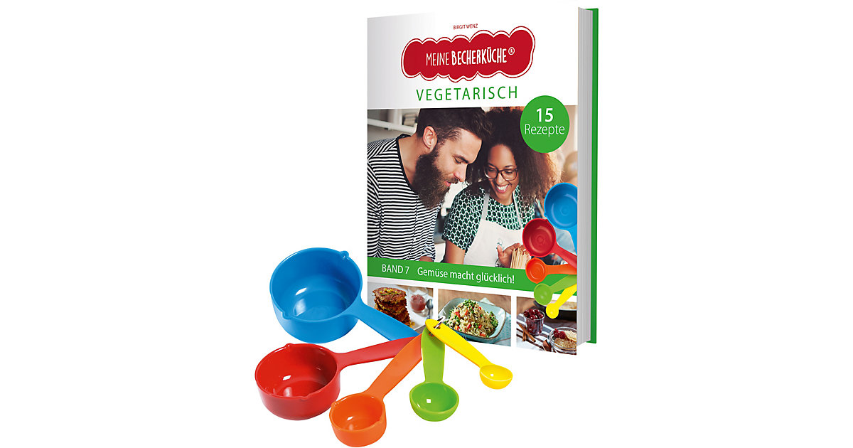 Buch - Kinderleichte Becherküche: Vegetarisch, 6-tlg.