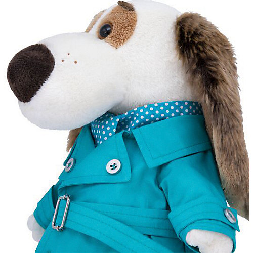 Мягкая игрушка Budi Basa Собака Бартоломей в плаще, 27 см от Budi Basa