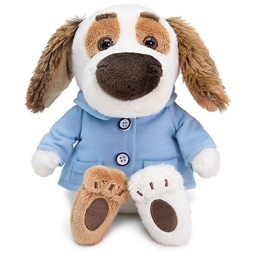 Мягкая игрушка Budi Basa Собака Бартоломей Baby в пиджачке, 19 см от Budi Basa