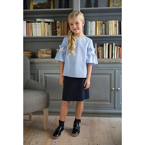 Блузка SLY для девочки - синий от SLY