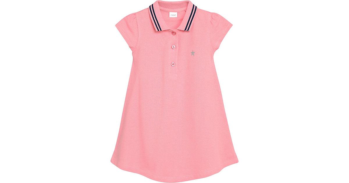 Kinder Kleid mit Polokragen rosa Gr. 110/116 Mädchen Kinder