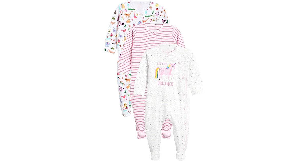 next · Baby Schlafanzüge 3er Pack Gr. 62 Mädchen Baby