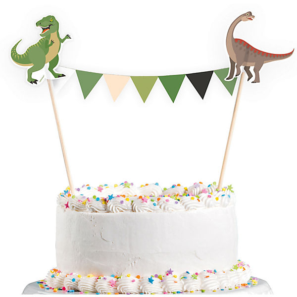 Kuchendekoration Happy Dinosaur
