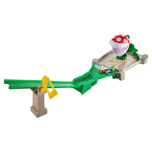 Hot Wheels Mario Kart Piranhapflanzen - Trackset, Super Mario