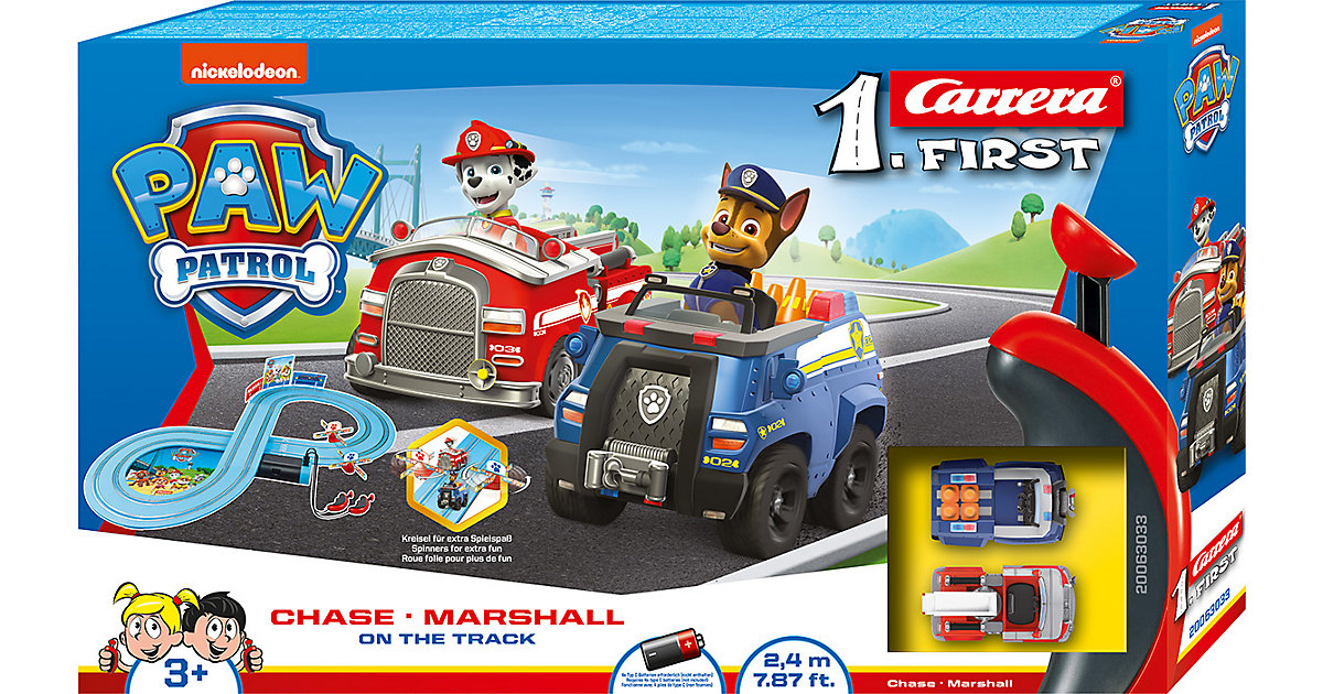 Carrera First PAW Patrol - On the Track