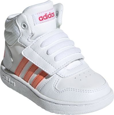 Baby Sneakers High HOOPS MID 2.0 I für Mädchen, adidas Sport Inspired