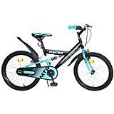 """Двухколесный велосипед 1Toy Topgear Racer 20"""", голубой"""