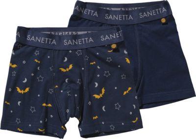 Boxershorts Doppelpack für Jungen, Sanetta