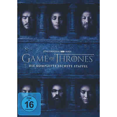DVD Game of Thrones - Staffel 6 (5 DVDs)