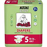 Подгузники Muumi Maxi Plus 10-16 кг, 44 штуки
