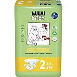 Подгузники Muumi Mini 3-6 кг, 58 штук