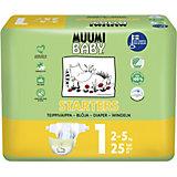 Подгузники Muumi Mini 2-5 кг, 25 штук