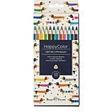 Карандаши цветные HappyColor BrunoVisconti, 12 цветов