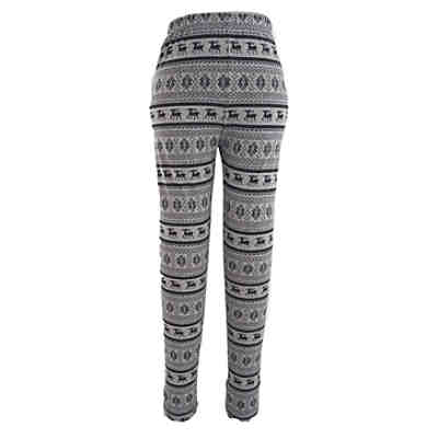 family-trends Leggings mit tollem Elch-Druck Leggings