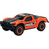 """Раллийная машина 1Toy """"Драйв"""" на радиоуправлении, оранжевая"""