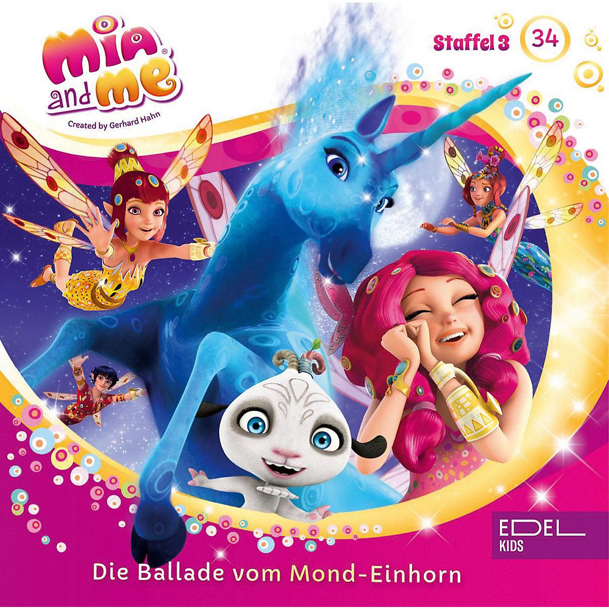 cd mia and me 34  die ballade vom mondeinhorn miame