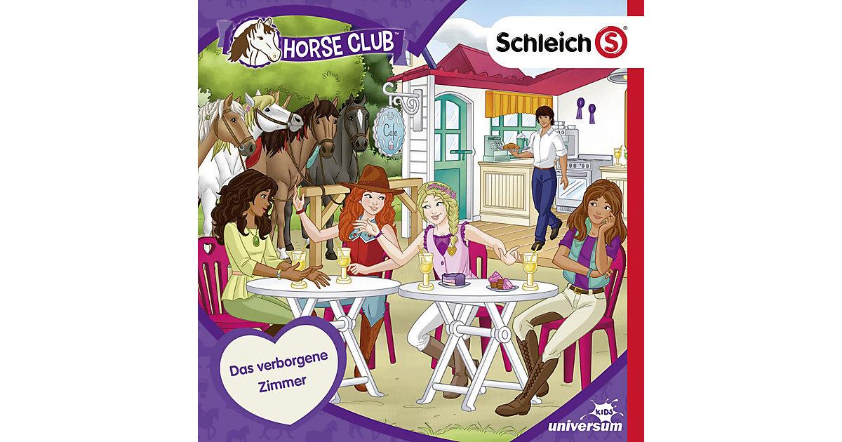 CD Schleich Horse Club 08 - Das verborgene Zimmer Hörbuch