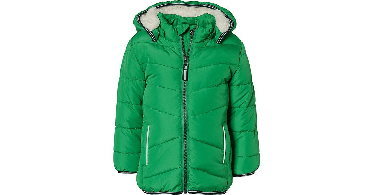 Winterjacke NMMMUS  grün Gr. 80 Jungen Kinder