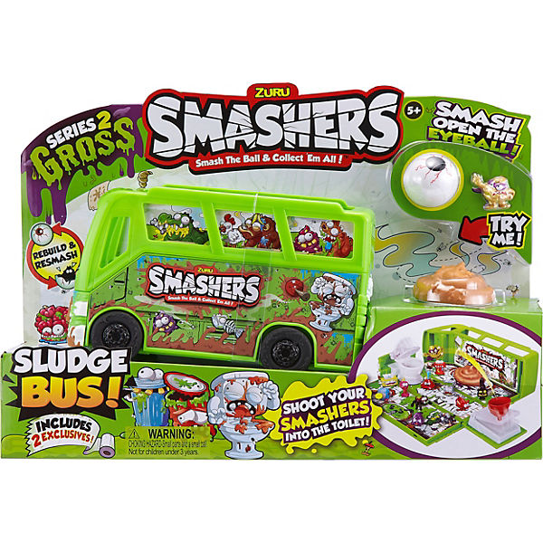Smashers Collectables Serie 2 - Bus + Zubehör