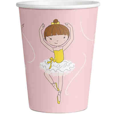 Becher Little Dancer 250ml, 8 Stück