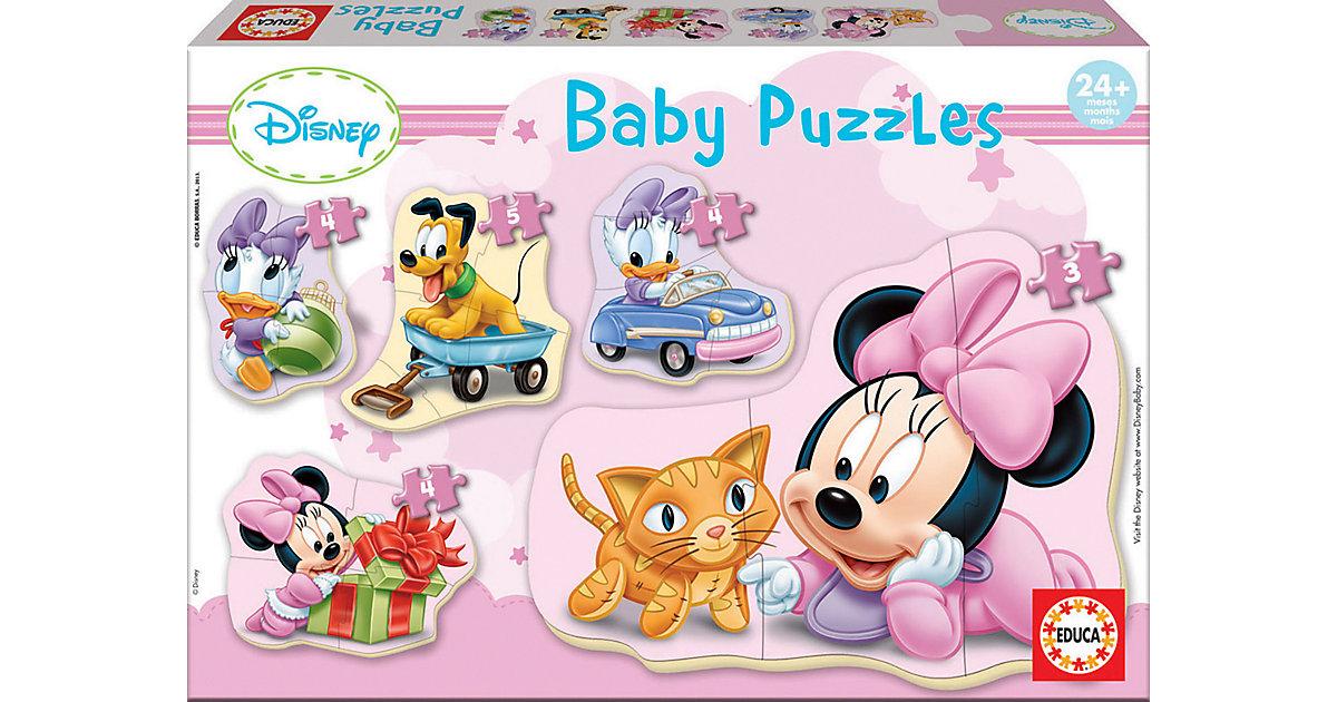 Baby Puzzles Minnie, 5 x 3 bis 5 Teile