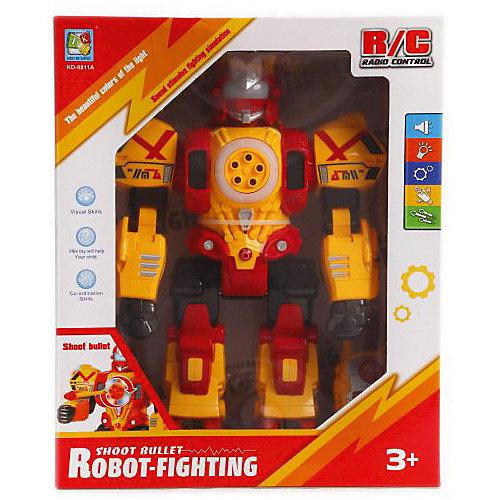 Радиоуправляемый робот Наша игрушка, со светом и звуком, 31 см от Наша Игрушка