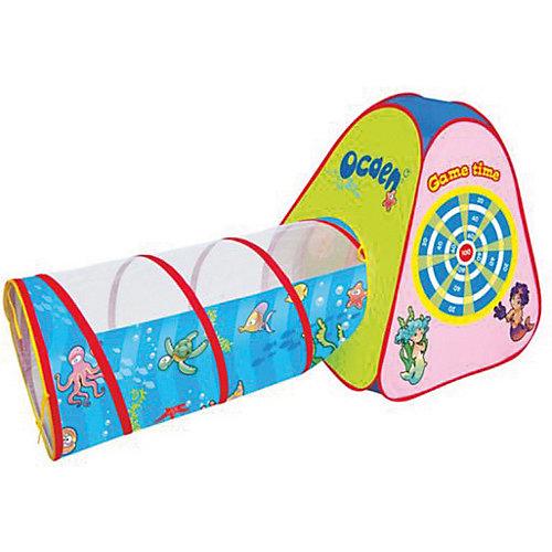 """Игровая палатка Наша Игрушка """"Морской дартс"""", с туннелем, 165*70*87 см от Наша Игрушка"""