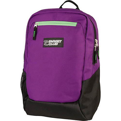 Рюкзак  Target Collection Sport solid purple - schwarz/lila от Target Collection