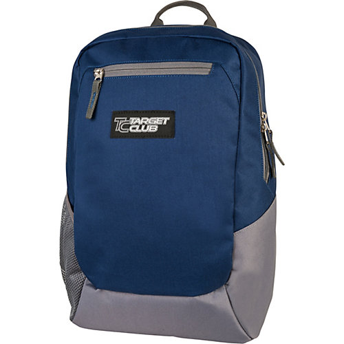 Рюкзак  Target Collection Sport solid navy blue - сине-серый от Target Collection
