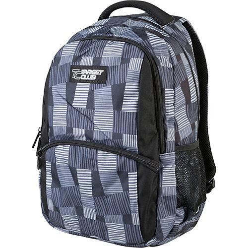 Рюкзак  Target Collection Safety pocket - черный/серый от Target Collection