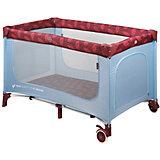 Кровать-манеж Happy Baby Martin, голубой