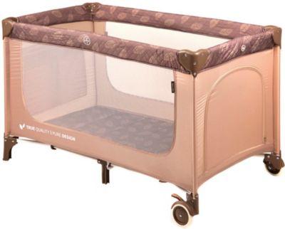 Кровать-манеж Happy Baby Martin, бежевый