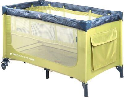 Кровать-манеж Happy Baby Martin, зелёный