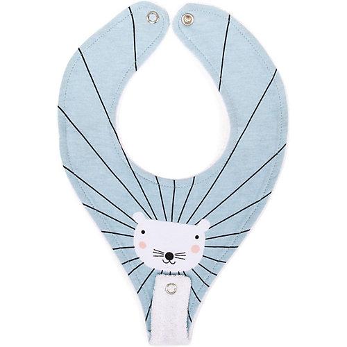 Нагрудный фартук  Happy Baby Mouse, с креплением для пустышки от Happy Baby