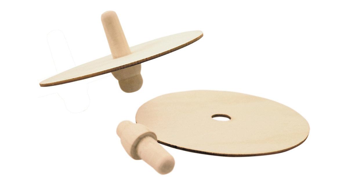 Holzkreisel 12 Stück