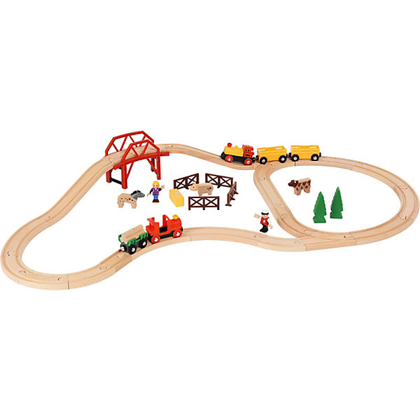 BRIO Farm & Train Set