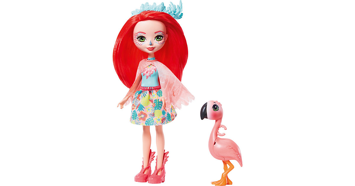 Enchantimals Fanci Flamingo & Swash Puppe