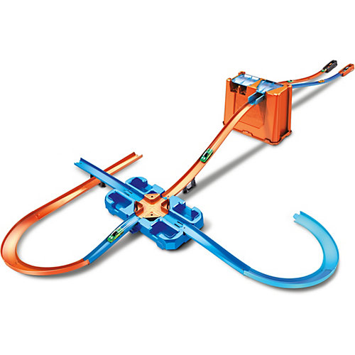 Автотрек Hot Wheels Track Builder Премиальный трюковой набор от Mattel