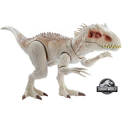 Игровая фигурка Jurassic World Индоминус Рекс, свет и звук от Mattel