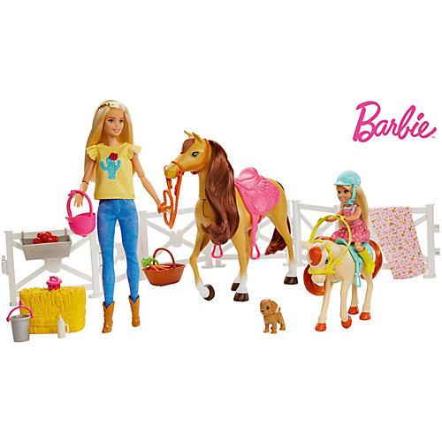 Игровой набор Barbie Куклы с лошадьми и аксессуарами от Mattel