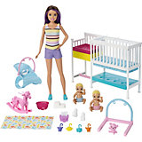 Игровой набор Barbie Скиппер и малыши