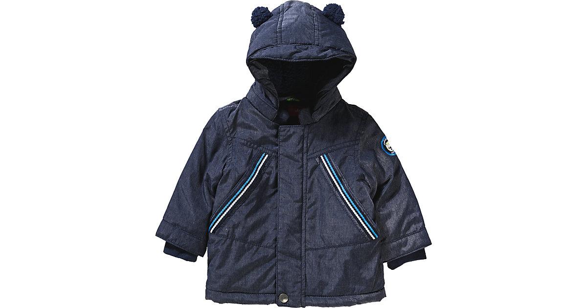 MANTEL - Jacken - männlich dunkelblau Gr. 80 Jungen Baby