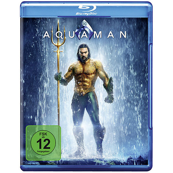 BLU-RAY AQUAMAN