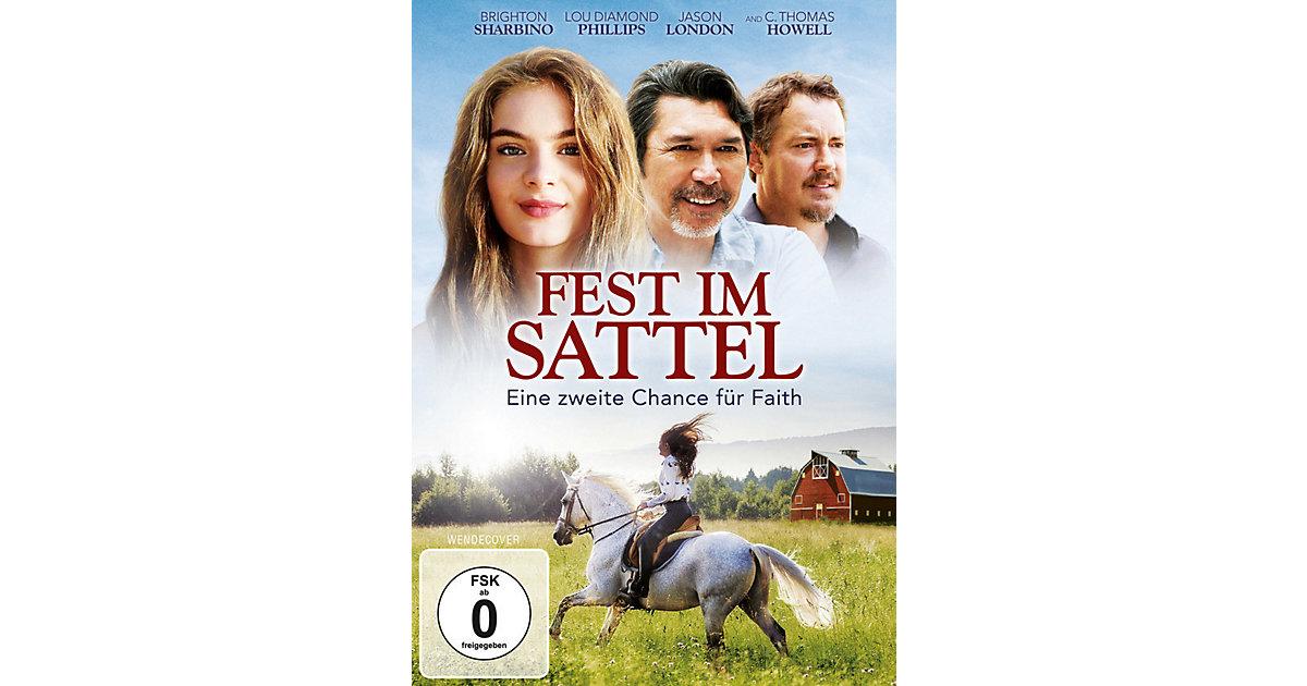 DVD Fest im Sattel - Eine zweite Chance Faith Hörbuch  Kinder